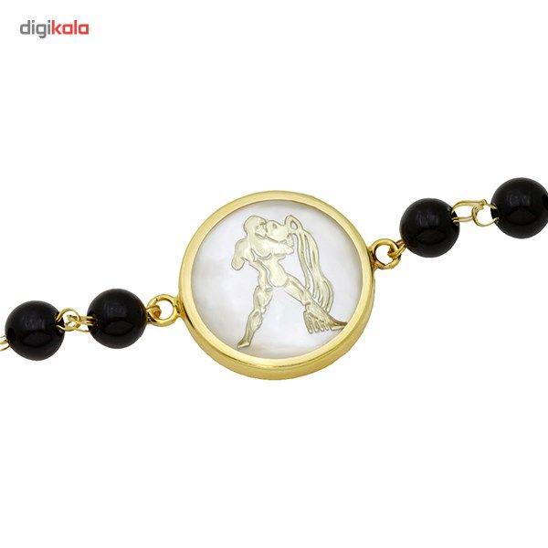 دستبند طلا 18 عیار ماهک مدل MB0118 - مایا ماهک