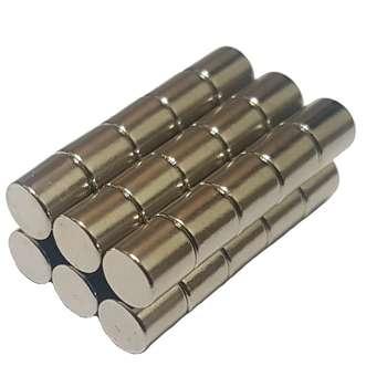 آهن ربای مدل استوانه  بسته  سی عددی