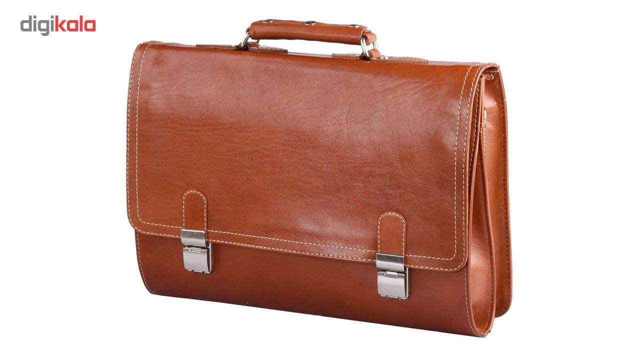 کیف اداری چرم طبیعی کهن چرم مدل L73 main 1 1