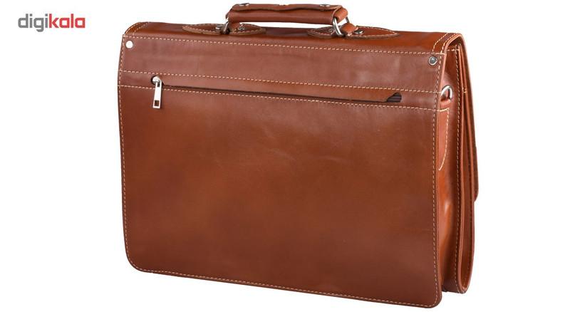 کیف اداری چرم طبیعی کهن چرم مدل L73