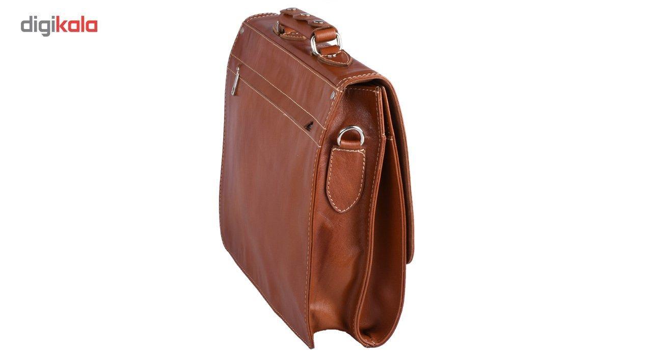 کیف اداری چرم طبیعی کهن چرم مدل L73 main 1 3