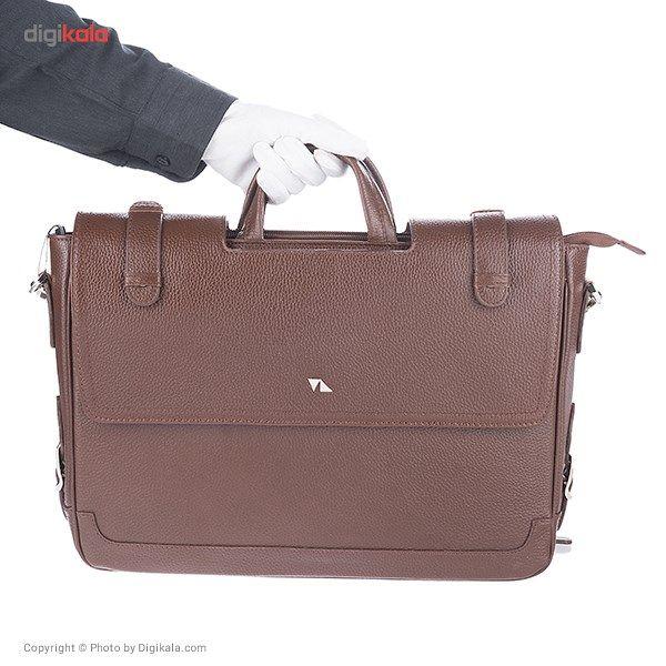 کیف اداری مردانه چرم مشهد مدل A0121 -  - 21