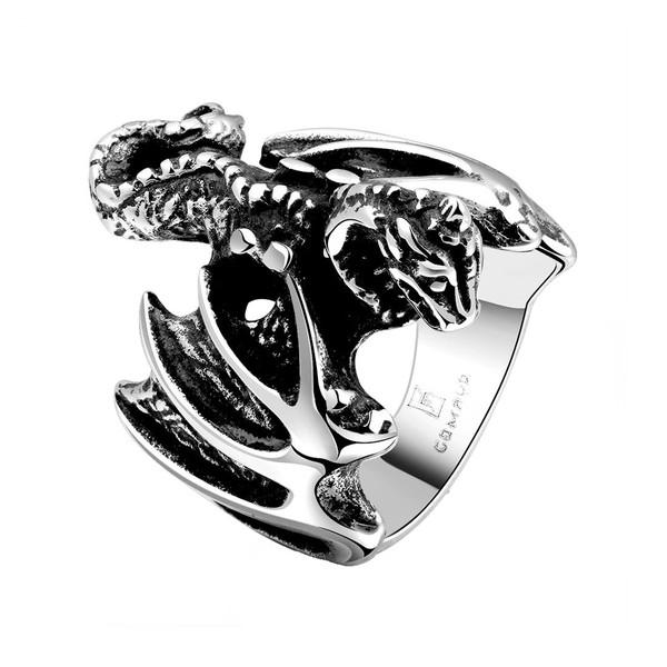 انگشتر مردانه گومایا مدل پتینوساروس  j-10403