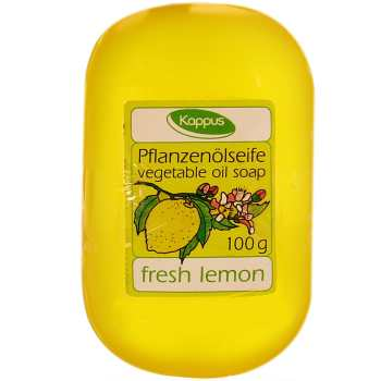 صابون گلیسرینه کاپوس مدل Fresh Lemon مقدار 100 گرم