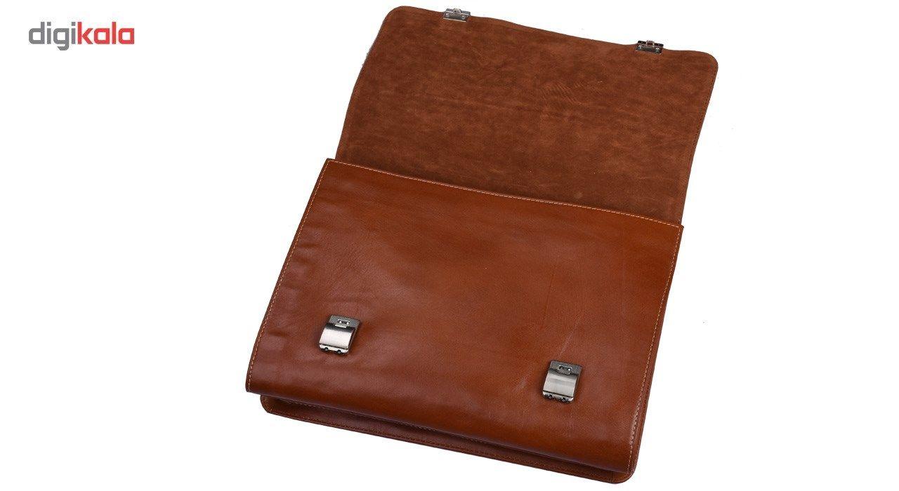 کیف اداری چرم طبیعی کهن چرم مدل L73 main 1 6