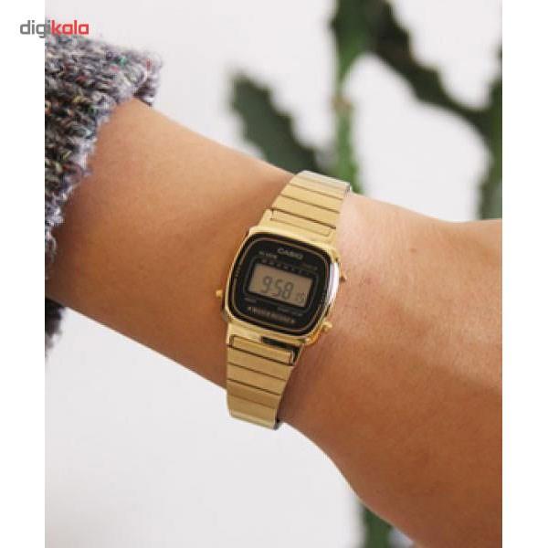 ساعت مچی دیجیتال زنانه کاسیو مدل LA670WGA-1DF