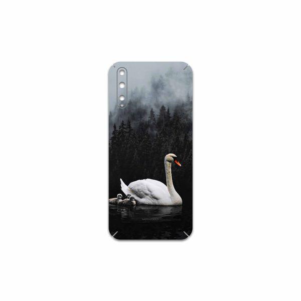 برچسب پوششی ماهوت مدل Swan Lake مناسب برای گوشی موبایل هوآوی Y8p