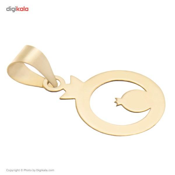 آویز گردنبند طلا 18 عیار ماهک مدل MM0345 - مایا ماهک -  - 1