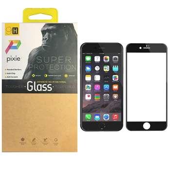 محافظ صفحه نمایش  تمام چسب شیشه ای پیکسی مدل 5D  مناسب برای گوشی اپل آیفون 7