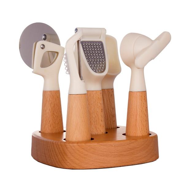 سرویس ابزار آشپز خانه 6 پارچه راش مای کیچن مدل230011