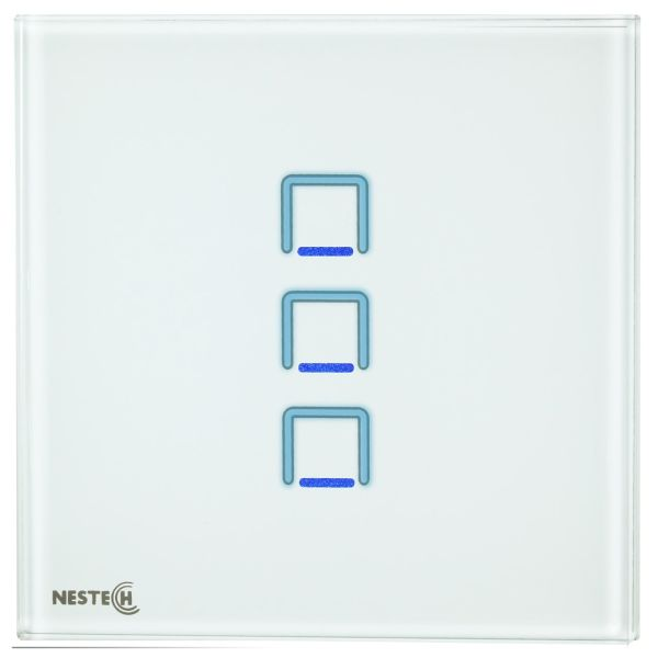 کلید لمسی نستک مدل NE3-LS01W-G3