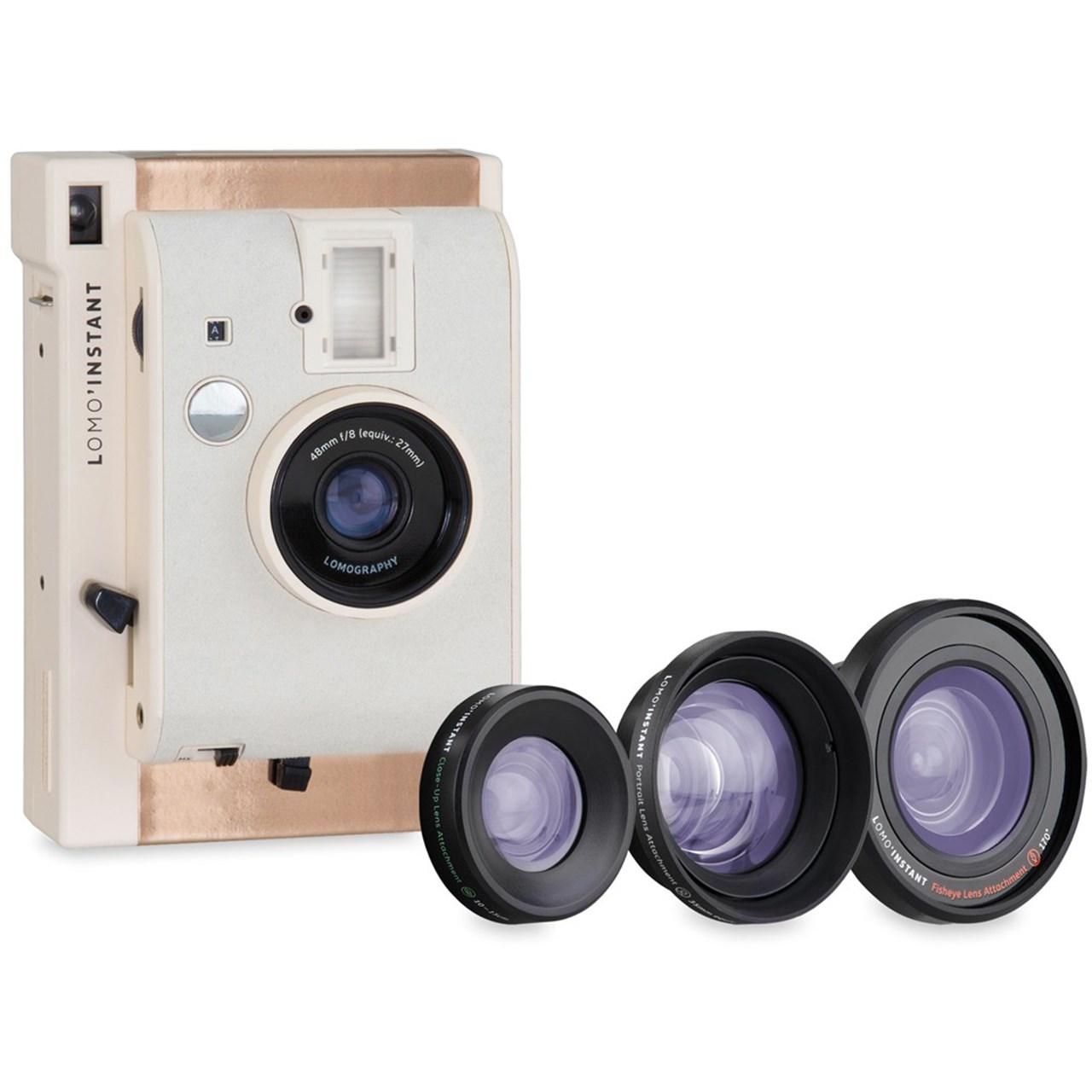 دوربین چاپ سریع لوموگرافی مدل Mumbai به همراه سه لنز