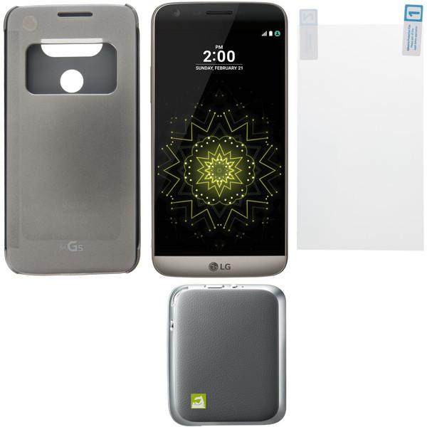 گوشی موبایل ال جی مدل G5 SE H845 دو سیم کارت به همراه باندل کم پلاس