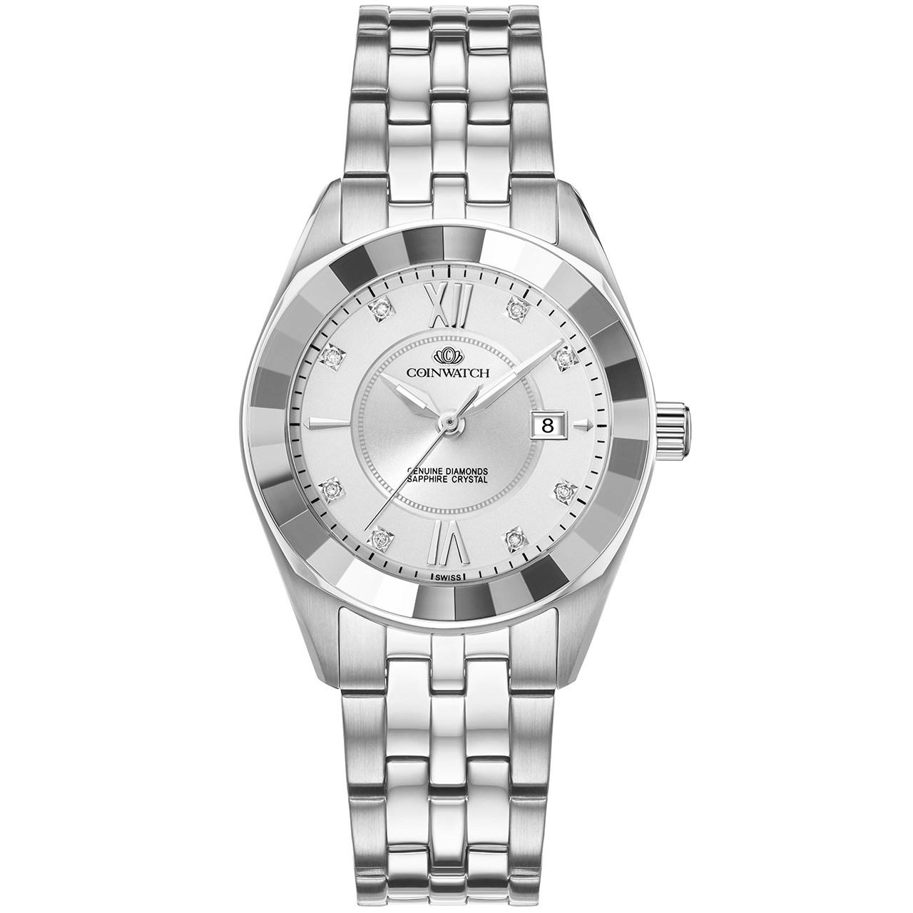 ساعت مچی عقربه ای زنانه کوین واچ مدل C156SWH