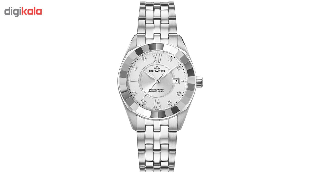 خرید                                      ساعت مچی عقربه ای زنانه کوین واچ مدل C156SWH