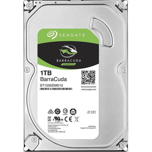 هارددیسک اینترنال سیگیت مدل BarraCuda ST1000DM010 ظرفیت 1 ترابایت | Seagate BarraCuda ST1000DM010 Internal Hard Drive - 1TB