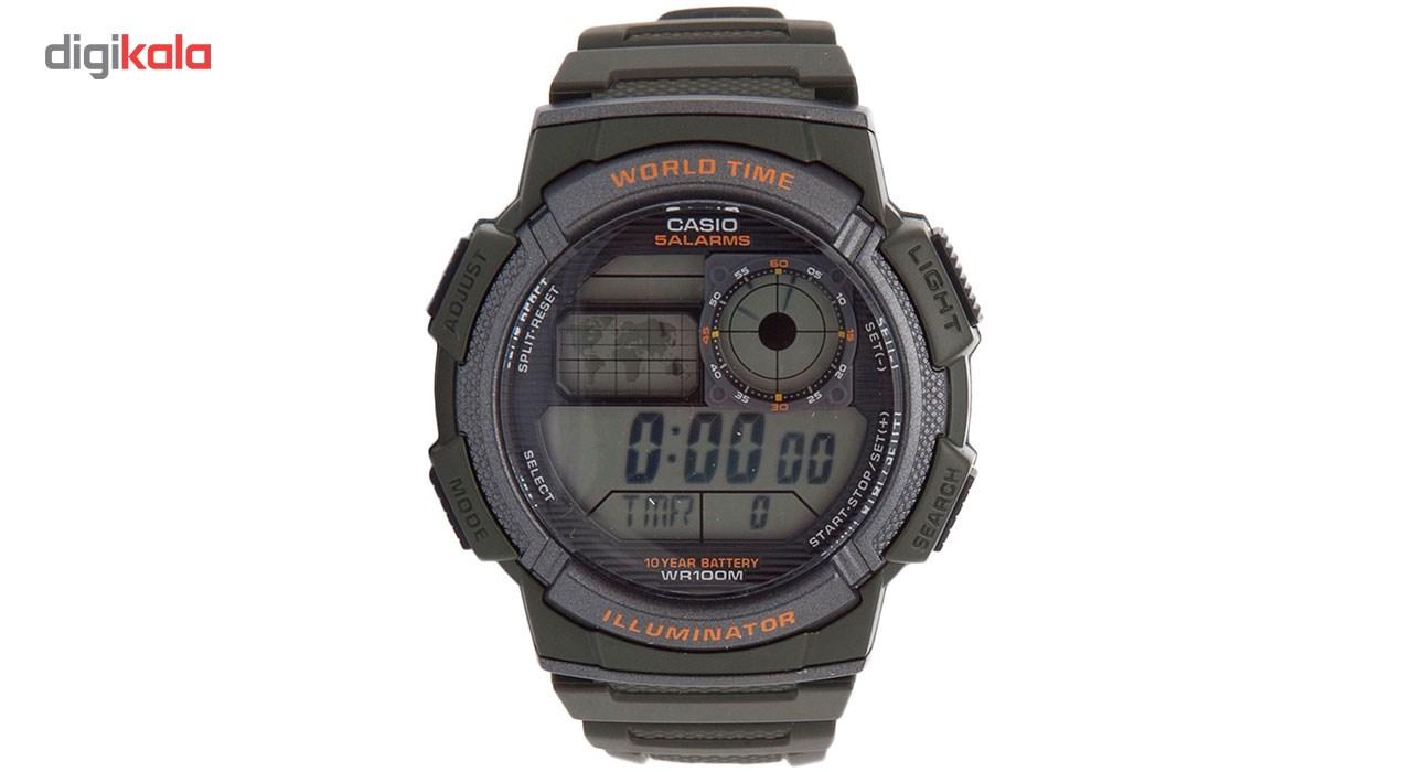 خرید ساعت مچی دیجیتال مردانه کاسیو مدل AE-1000W-3AVDF | ساعت مچی