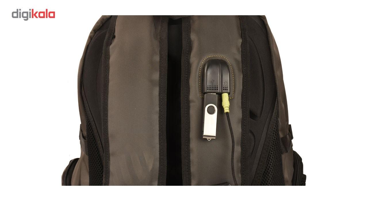 کوله پشتی لپ تاپ پارینه مدل SP105-9 مناسب برای لپ تاپ 15 اینچی
