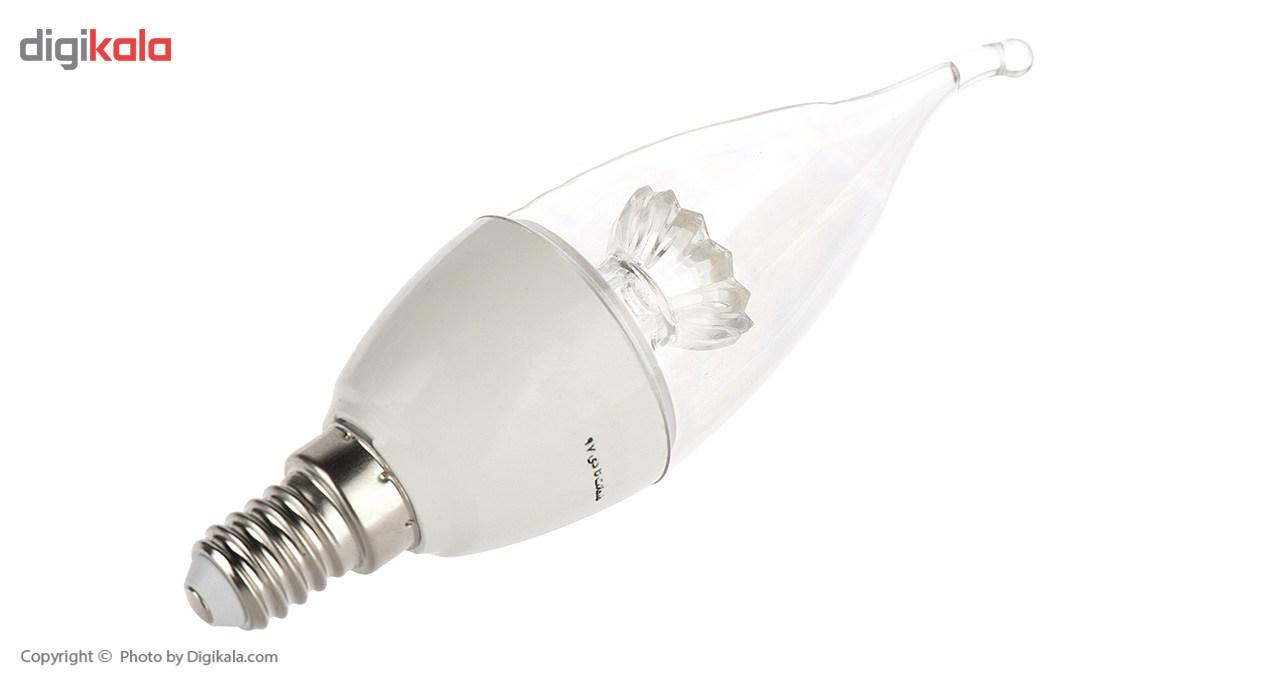 لامپ ال ای دی 6 وات آوا مدل GA Plus پایه E14