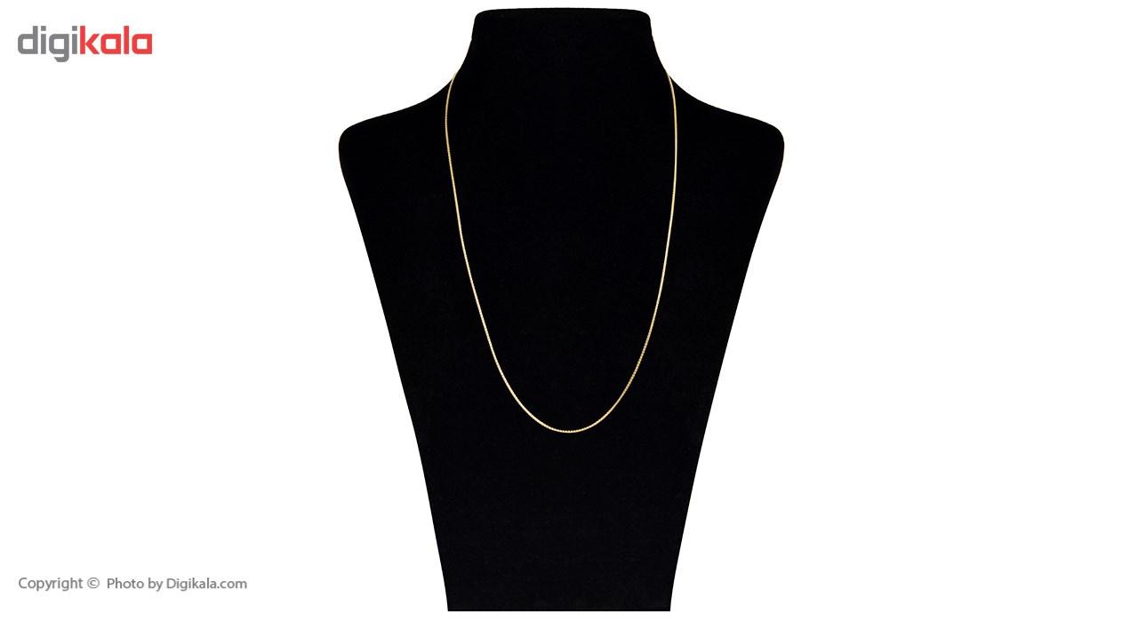 زنجیر طلا 18 عیار ماهک مدل MM0659