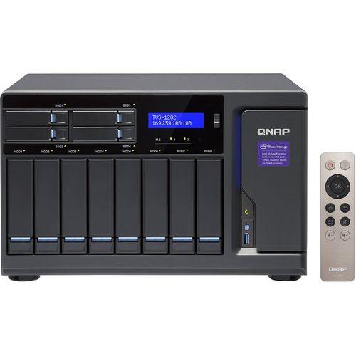 ذخیره ساز تحت شبکه کیونپ مدل TVS-1282-i5-16G بدون دیسک