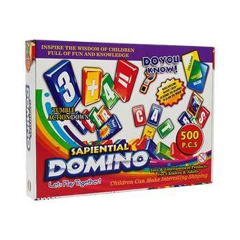بازی آموزشی دومینو مدل 005 مجموعه 500عددی
