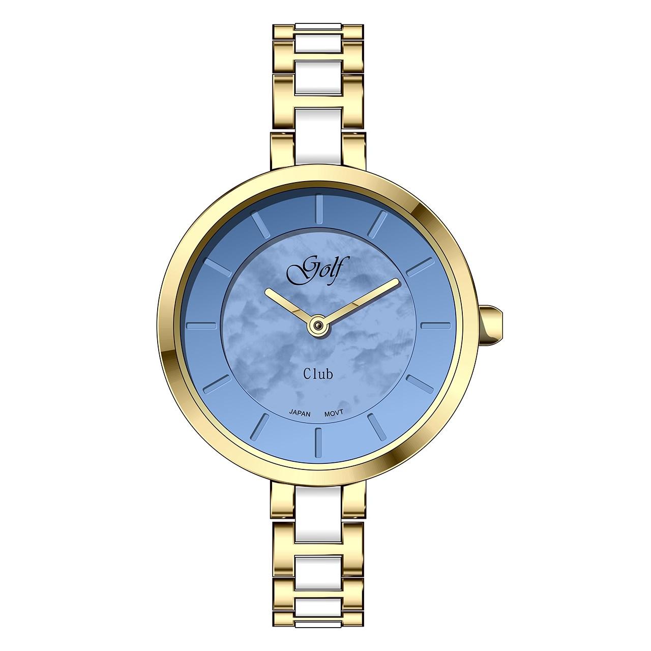 ساعت مچی عقربه ای زنانه گلف مدل L0113-2