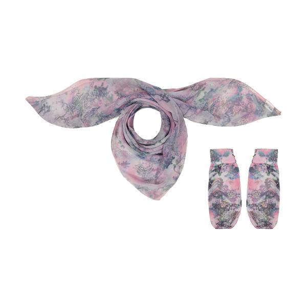 ست روسری و ساق دست زنانه گالری شمرون مدل SCA152G0