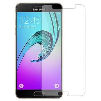 محافظ صفحه نمایش شیشه ای مدل Tempered مناسب برای گوشی موبایل سامسونگ Galaxy A5 2016