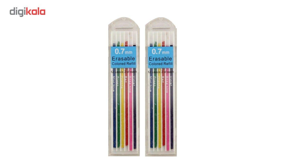 نوک مداد نوکی 0.7 میلی متری ارت کیوب بسته دو عددی main 1 1