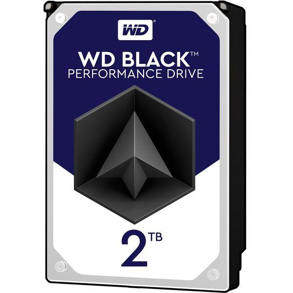هارددیسک اینترنال وسترن دیجیتال مدل Black WD2003FZEX ظرفیت 2 ترابایت