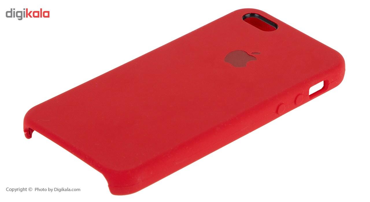 کاور سیلیکونی مناسب برای گوشی موبایل آیفون SE              ( قیمت و خرید)