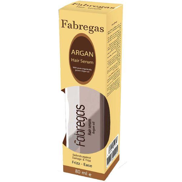 سرم مو ترمیم کننده فابریگاس مدل Argan Oil حجم 80 میلی لیتر