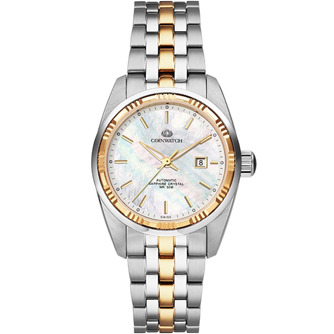 ساعت مچی عقربه ای زنانه کوین واچ مدل C139TWH