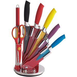 ست چاقوی آشپزخانه 8 پارچه رویالتی لاین مدل RL COL8W