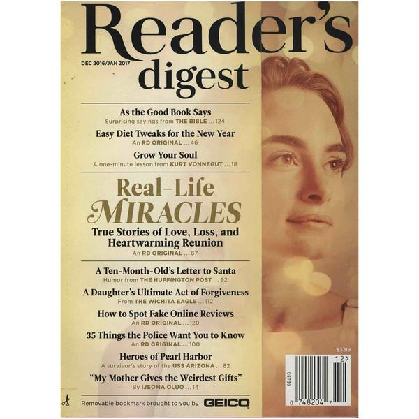 مجله ریدرز دایجست - ژانویه 2017
