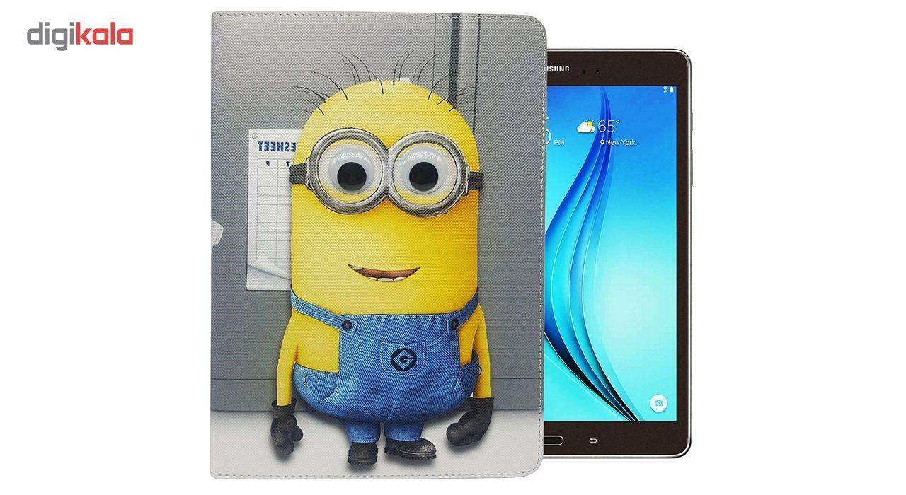 کیف کلاسوری مدل minion مناسب برای تبلت Samsung Tab A9.7 inch T550 main 1 1