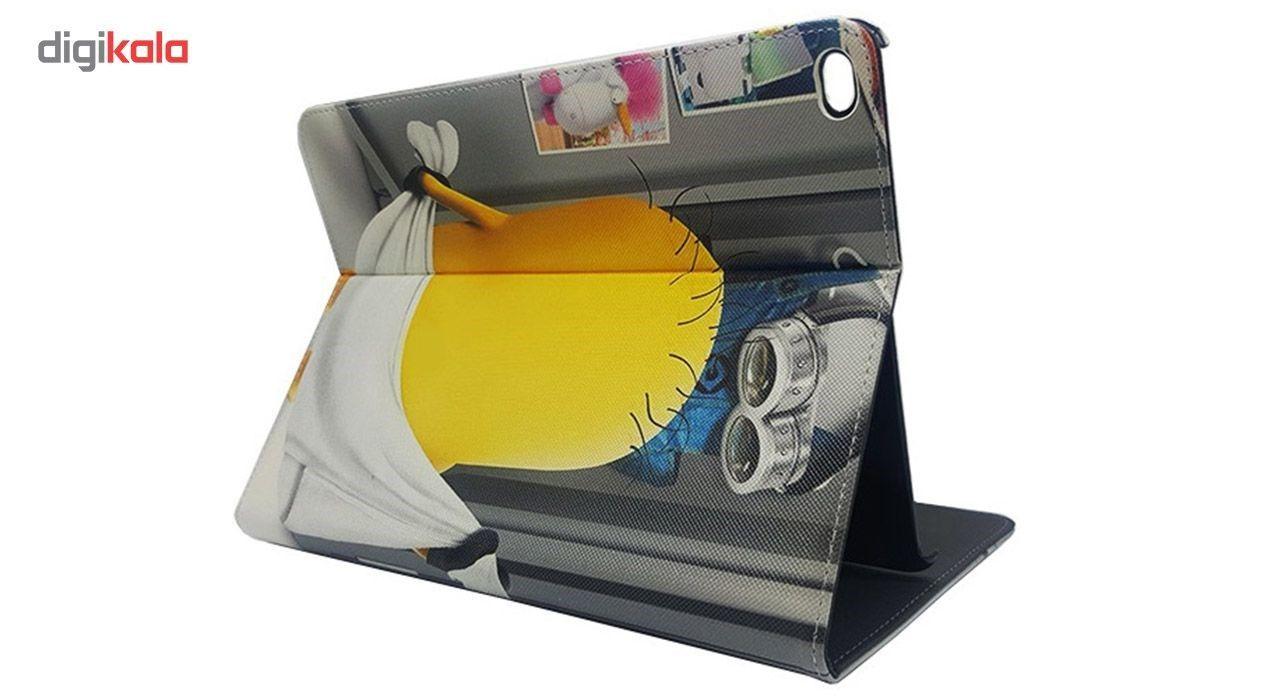 کیف کلاسوری مدل minion مناسب برای تبلت Samsung Tab A9.7 inch T550 main 1 2