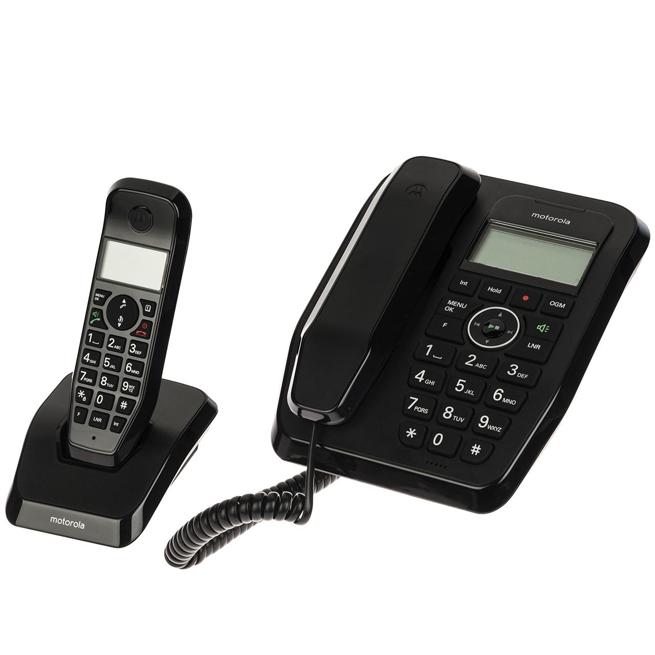 خرید                     تلفن بی سیم موتورولا مدل SC250A-Combo