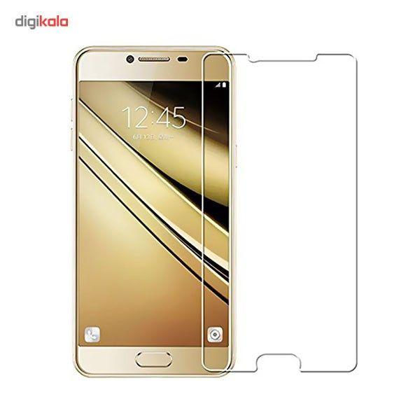 محافظ صفحه نمایش شیشه ای مدل Tempered مناسب برای گوشی موبایل سامسونگ Galaxy C7 main 1 1