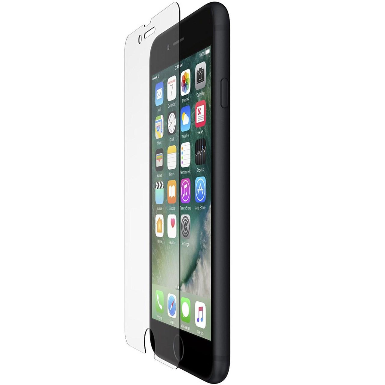محافظ صفحه نمایش شیشه ای بلکین مدل ScreenForce مناسب برای گوشی موبایل آیفون 7