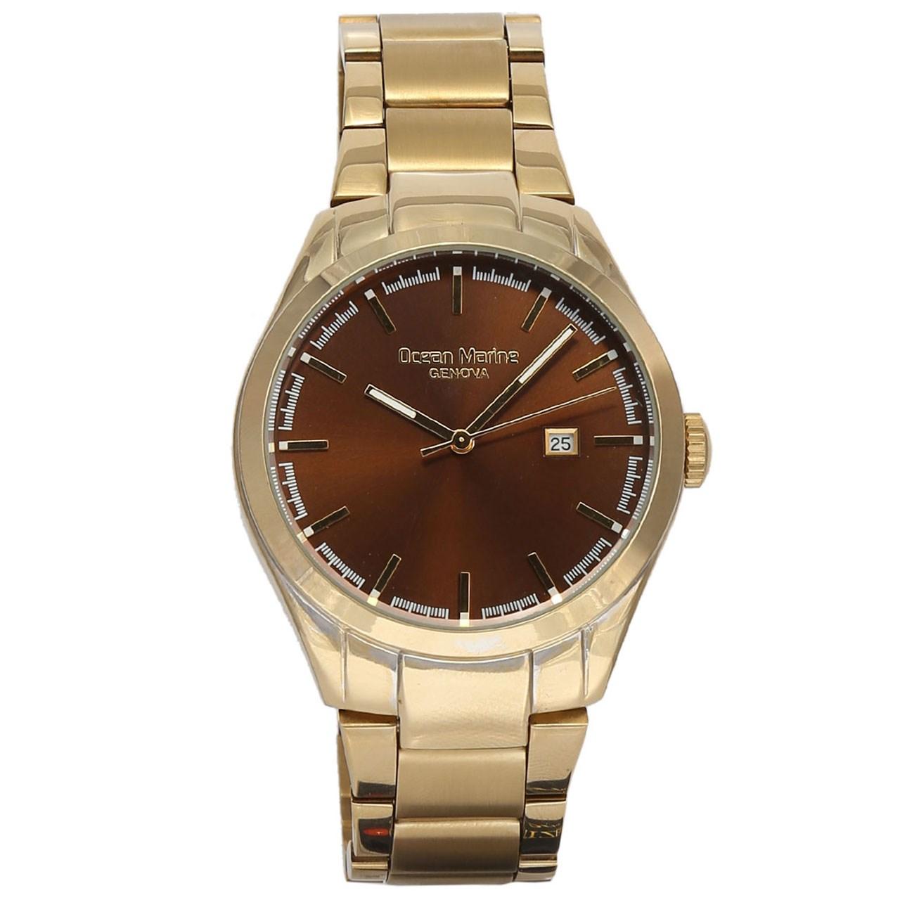 ساعت مچی عقربه ای مردانه اوشن مارین مدل OM-8019-5