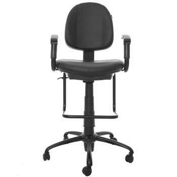 صندلی اداری چرمی راد سیستم مدل K303N
