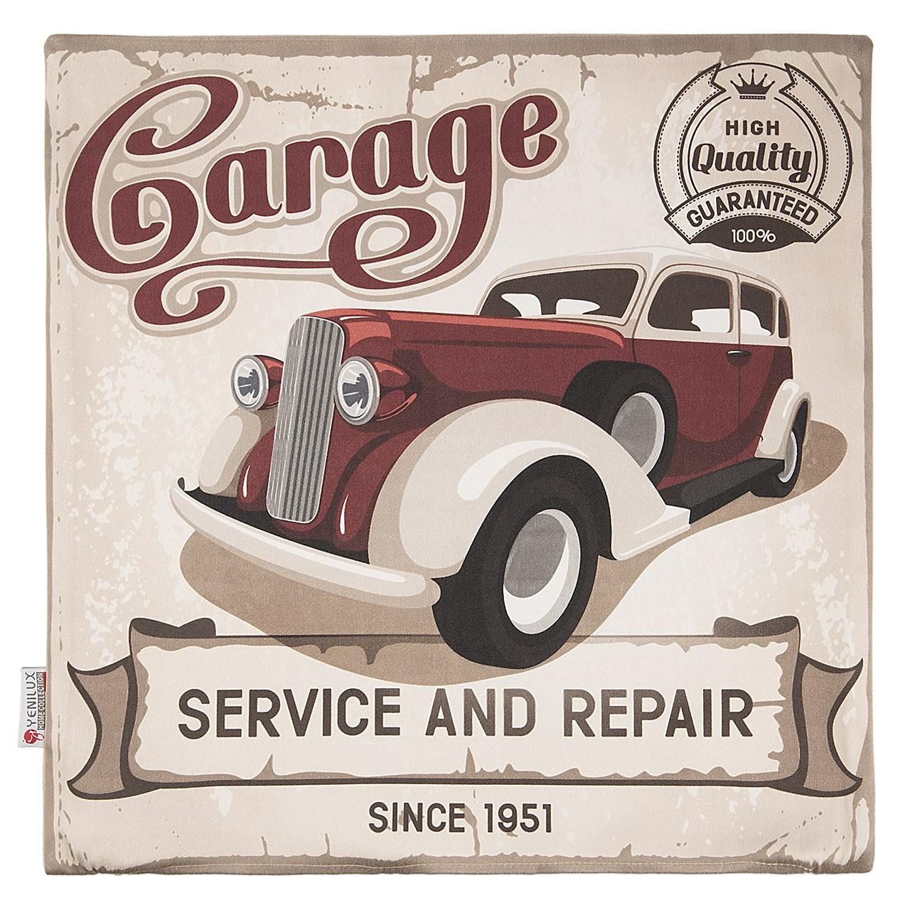 کاور کوسن ینیلوکس مدل Garage