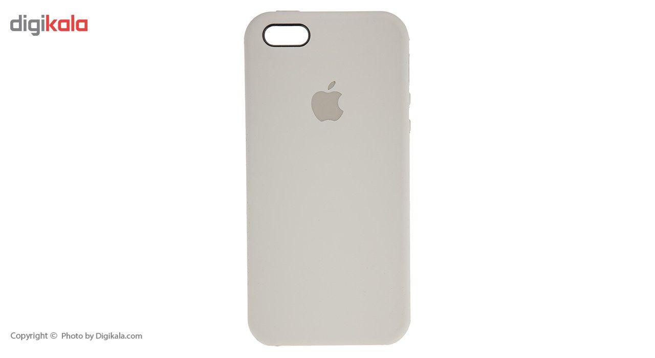 کاور سیلیکونی مناسب برای گوشی موبایل آیفون SE main 1 14