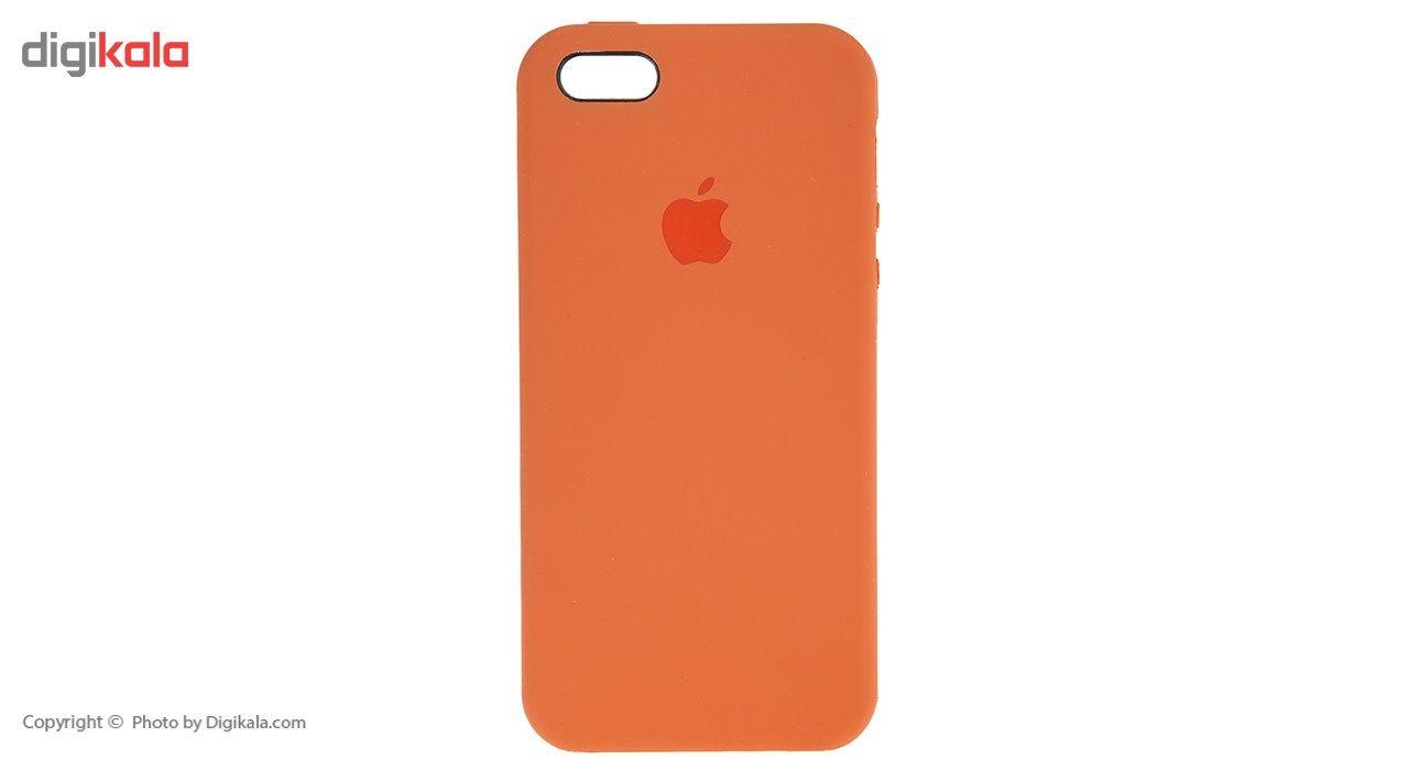 کاور سیلیکونی مناسب برای گوشی موبایل آیفون SE main 1 16