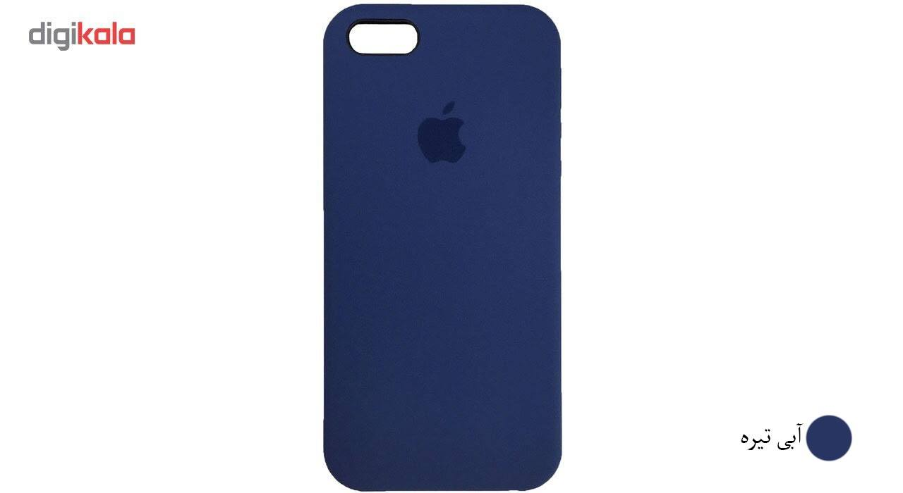 کاور سیلیکونی مناسب برای گوشی موبایل آیفون SE main 1 17
