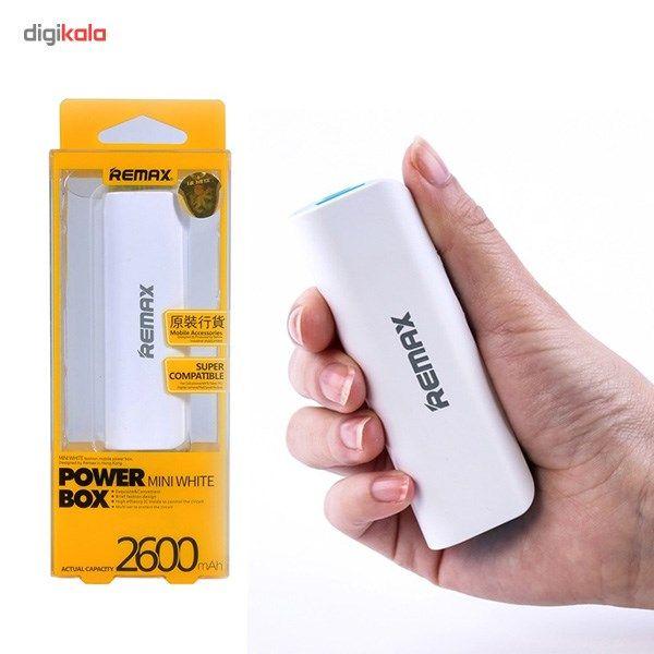 شارژر همراه ریمکس مدل Mini White ظرفیت 2600 میلی آمپر ساعت main 1 4