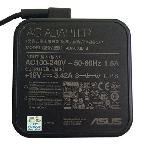 شارژر لپ تاپ 19 ولت 3.42 آمپر ایسوس مدل مربعی