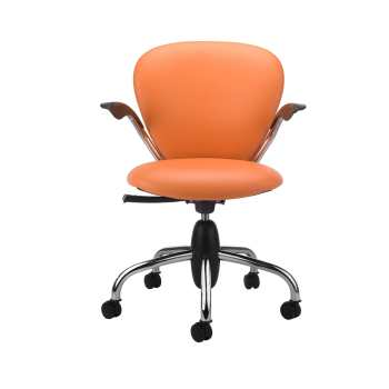 صندلی اداری نیلپر مدل SK507c چرمی